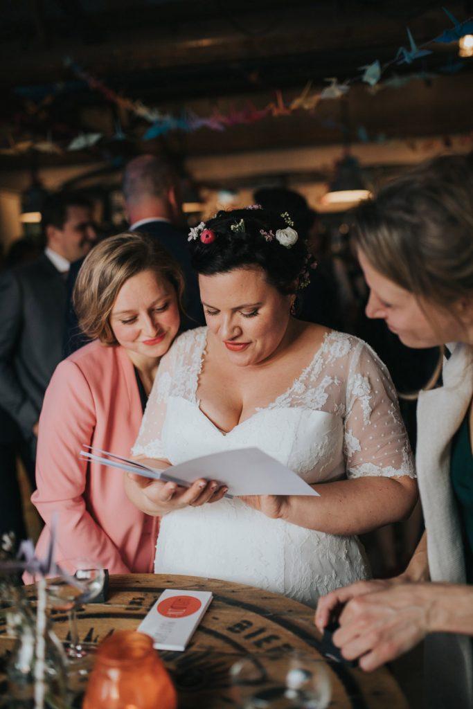 Creatieve bruiloft in Utrecht