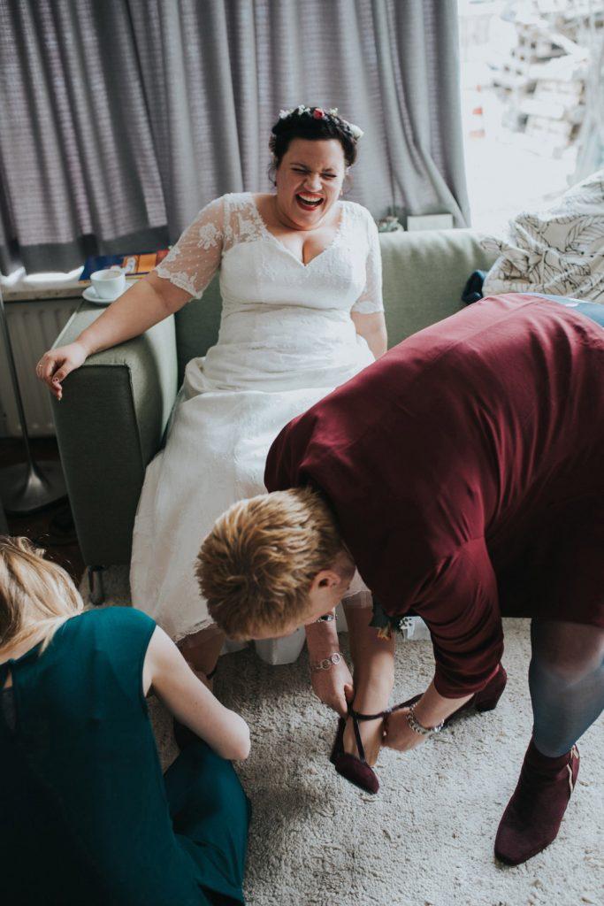 Eigenzinnige bruiloft van Rob & Eva in Utrecht