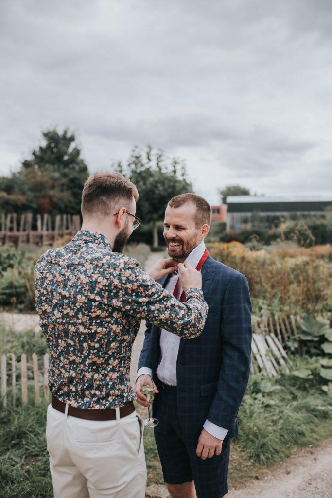 gast strikt das bruidegom