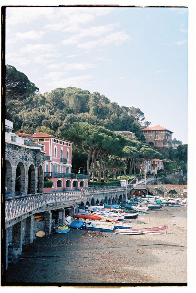 haven in cinque terre, Italië