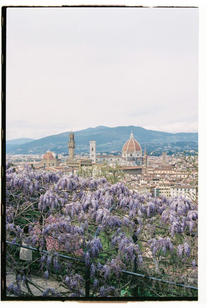 pittoresk uitzicht florence, italie
