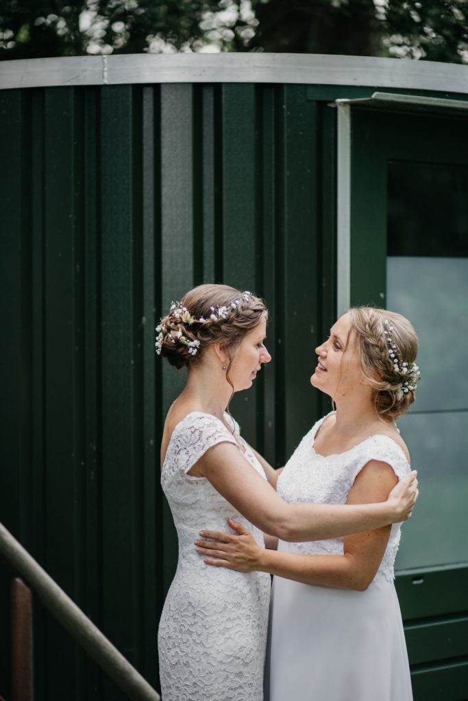 bruiden eerste ontmoeting