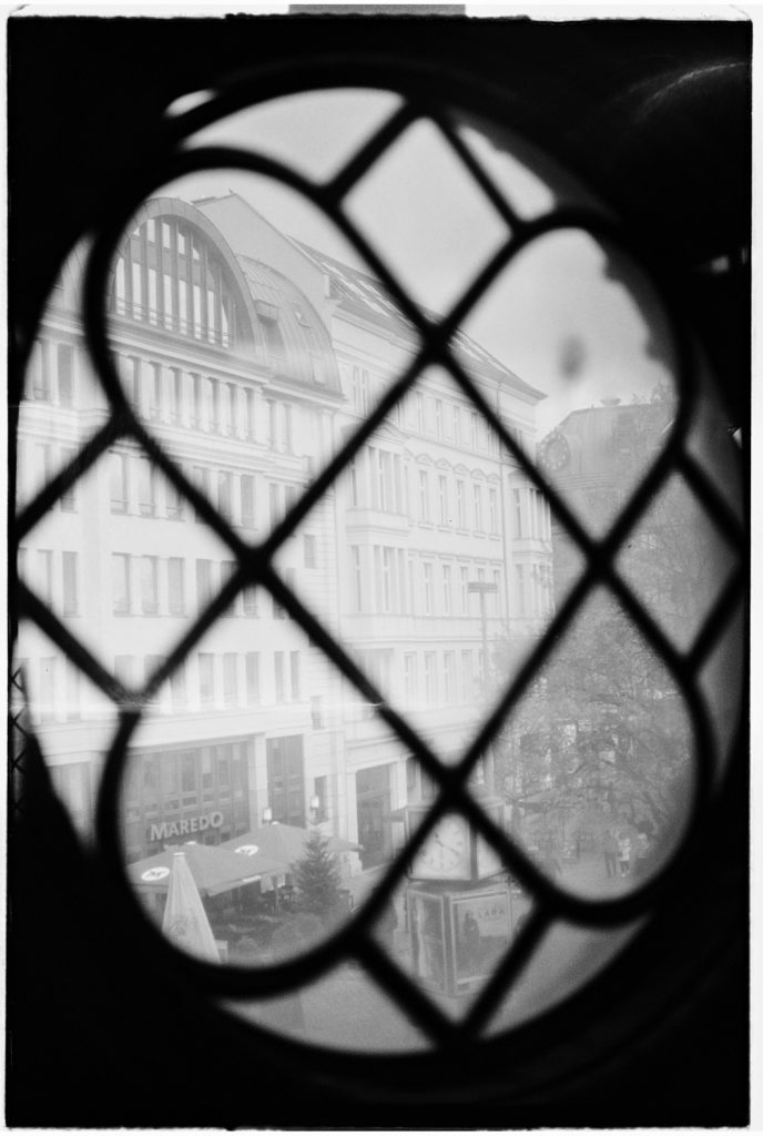 foto geschoten door een raam