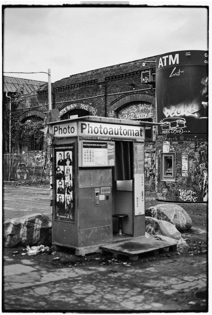analoog fotohokje in berlijn