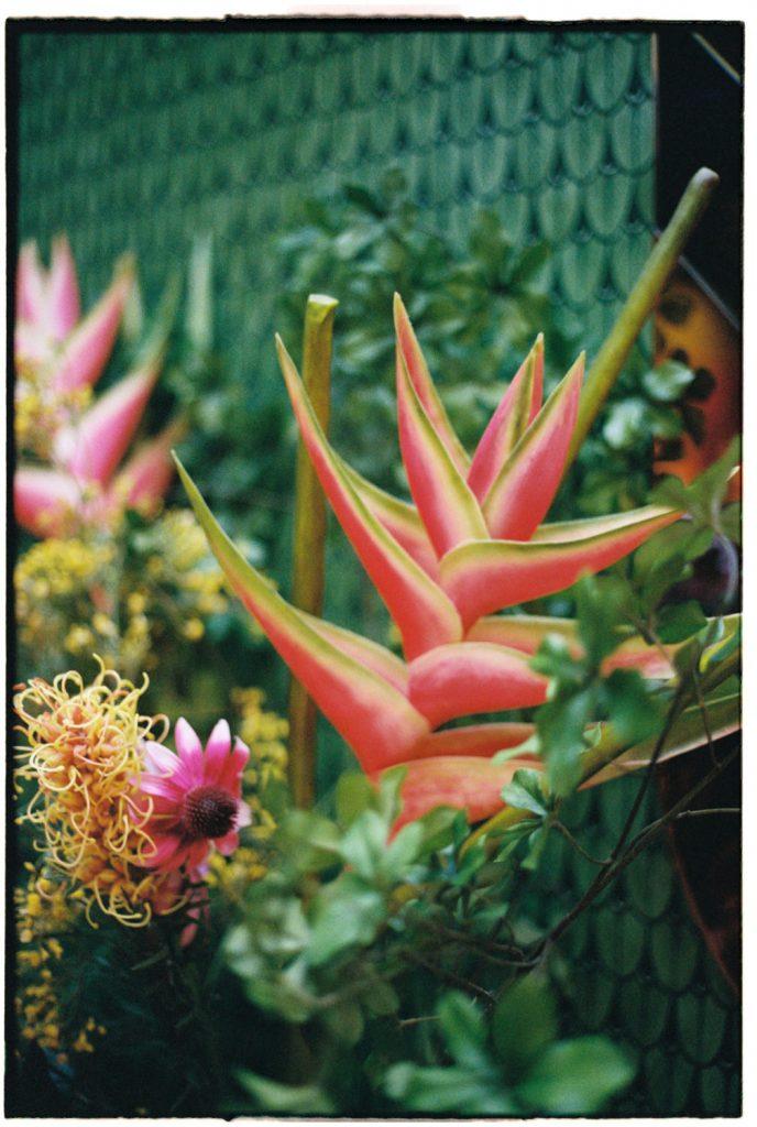kleurrijk bloemstuk
